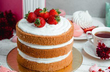 Receitas de Bolo Naked Cake Irresistíveis e Fáceis