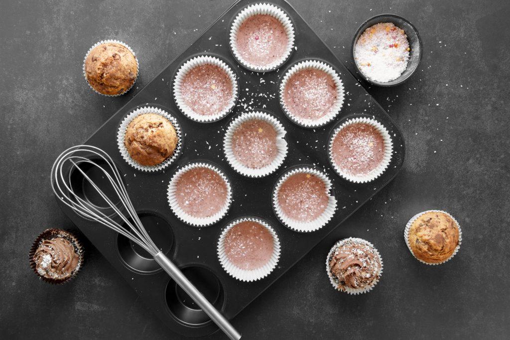 massa de cupcake freepik